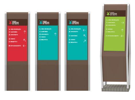 Estudo sinalização Parque Moinhos de Vento | Núcleo de Design Gráfico Ambiental - NDGA