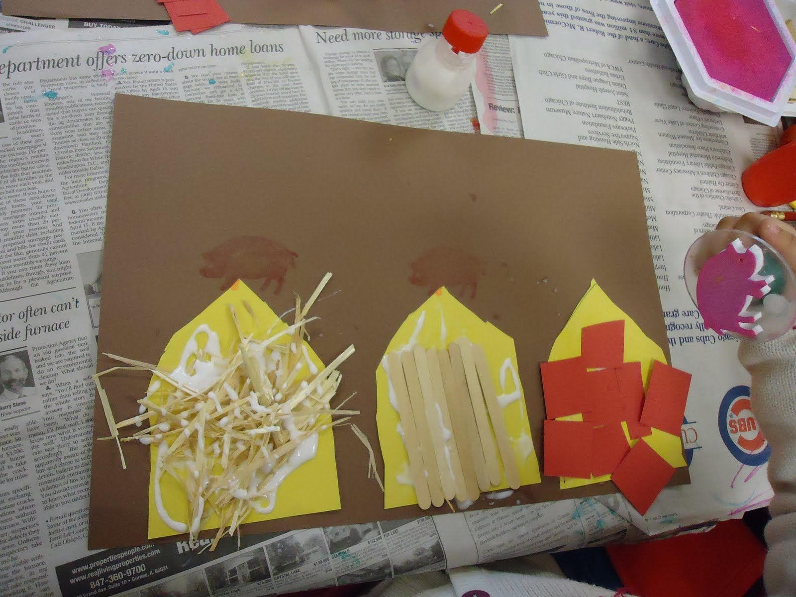 Three Little Pigs Project