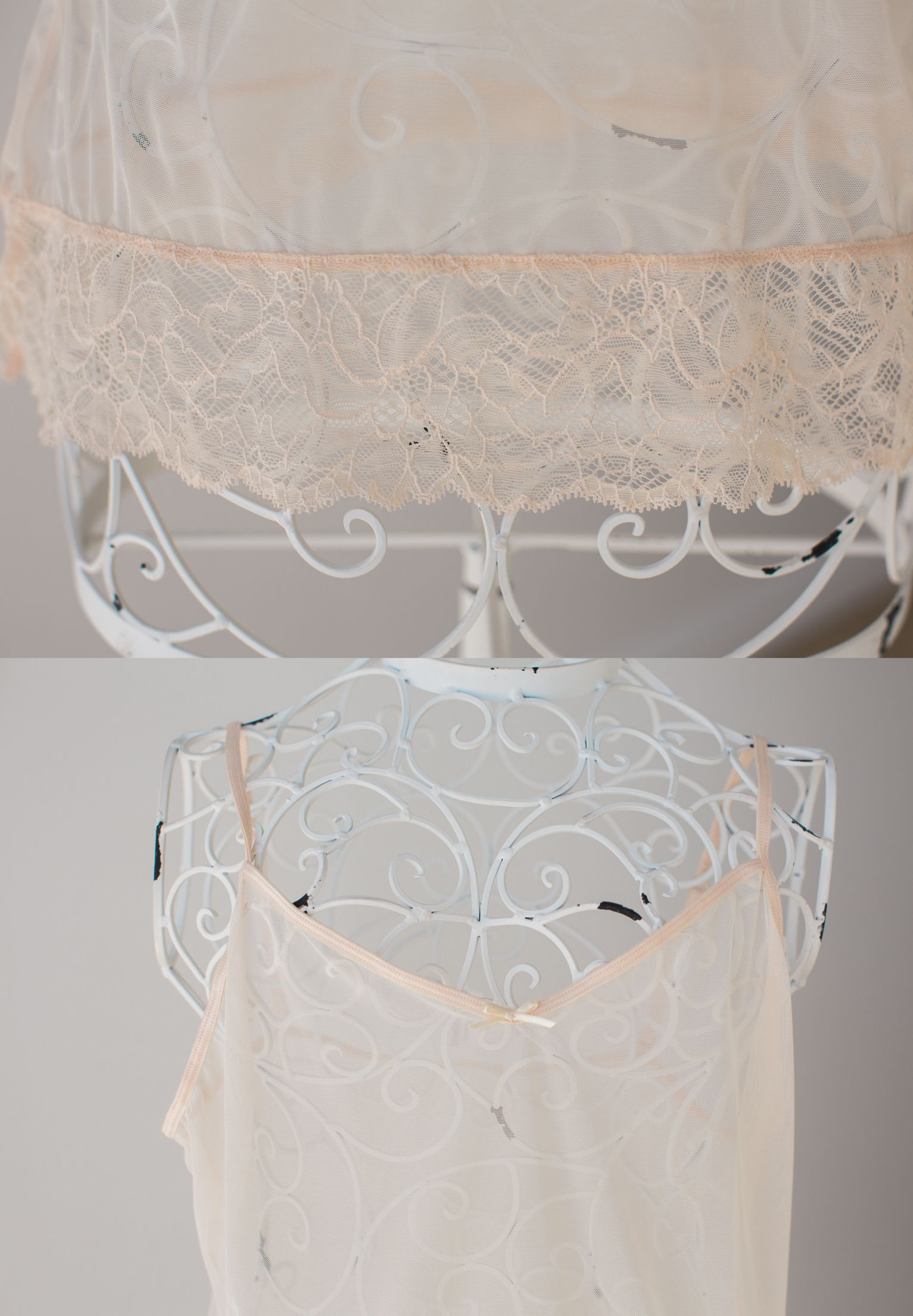Sheer Pink Cami  To fit and can be worn by size 16 and under for photo purposes