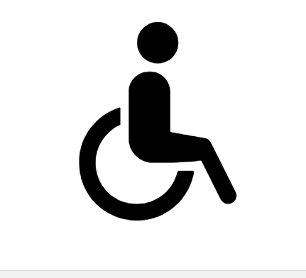 Wheelchair Icon In Android Style Icon Android Icons Wheelchair