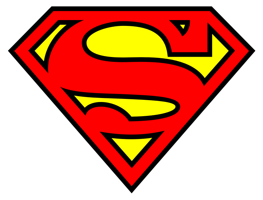 Google image result for for Superman template for cake