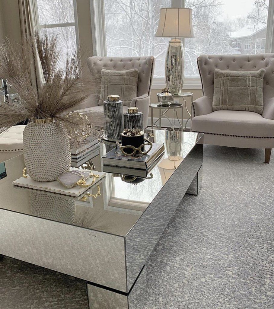Hollywood Mirrored Rectangular Coffee Table Hos Home Coffee Table Mirrored Coffee Tables Diy Room Decor For Teens