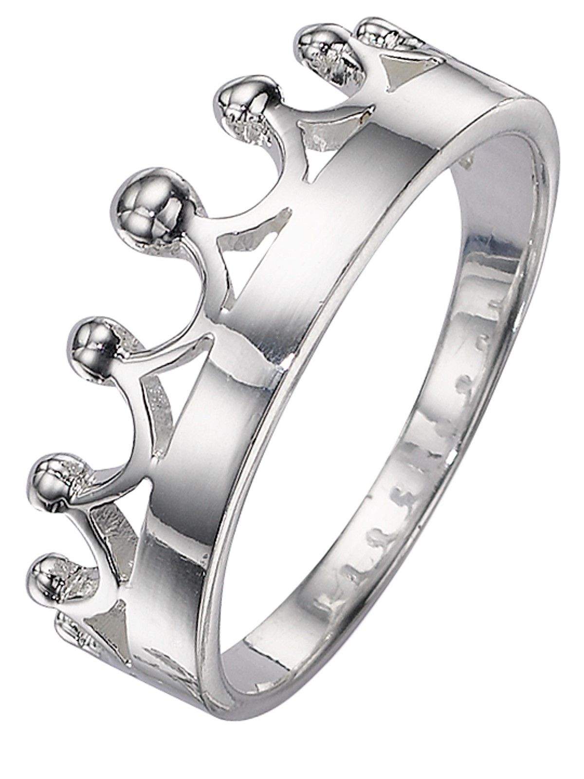 elements Silver Crown Ring Very.co.uk