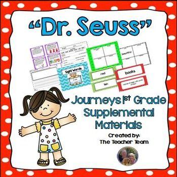 Dr Seuss Journeys 1st Grade Unit 2 Lesson 9 Anything