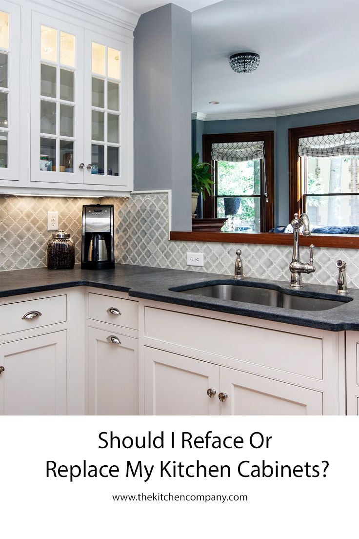 Should I resurface or replace my kitchen cabinets? | Kitchen Remodel ...