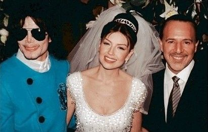 Mj President Of Sony Music Tommy Mottola And Wife Thalia During The Weeding