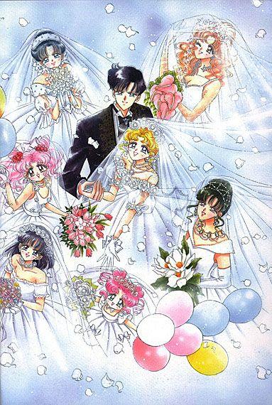 Sailor Moon - Groups Wedding