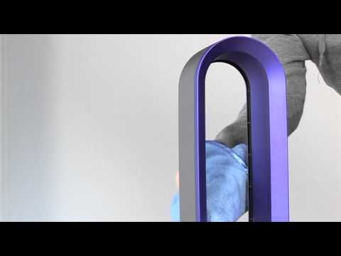 How to clean your Dyson Hot + Cool fan heater  Please turn