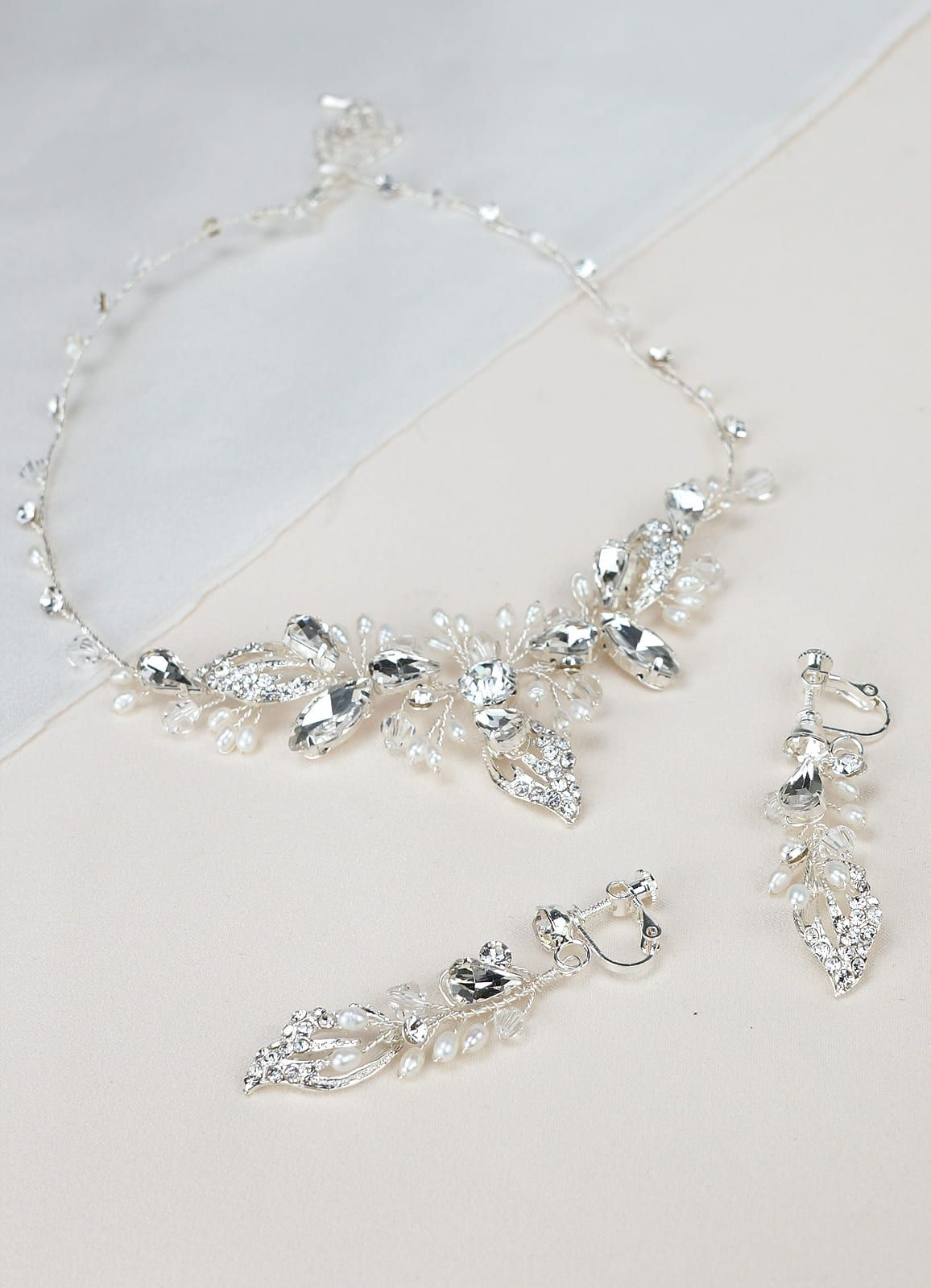 Afarose Spring Collection Jewelry In 2020 Wedding Accessories Cascade Necklace Featured Jewelry