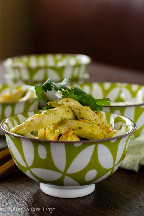 Thai Green Chicken Curry | Thai green chicken curry, Curry ...