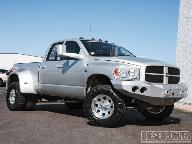 07 Dodge Ram Dually Owned By John Weatherby Dodge Trucks Lowered Trucks Diesel Trucks