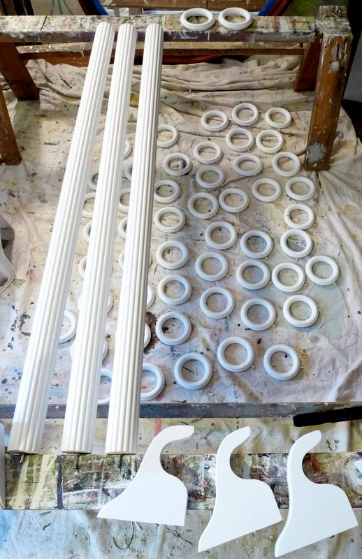 Brackets Rods Rings Oh My Diy Curtain Rods Wooden