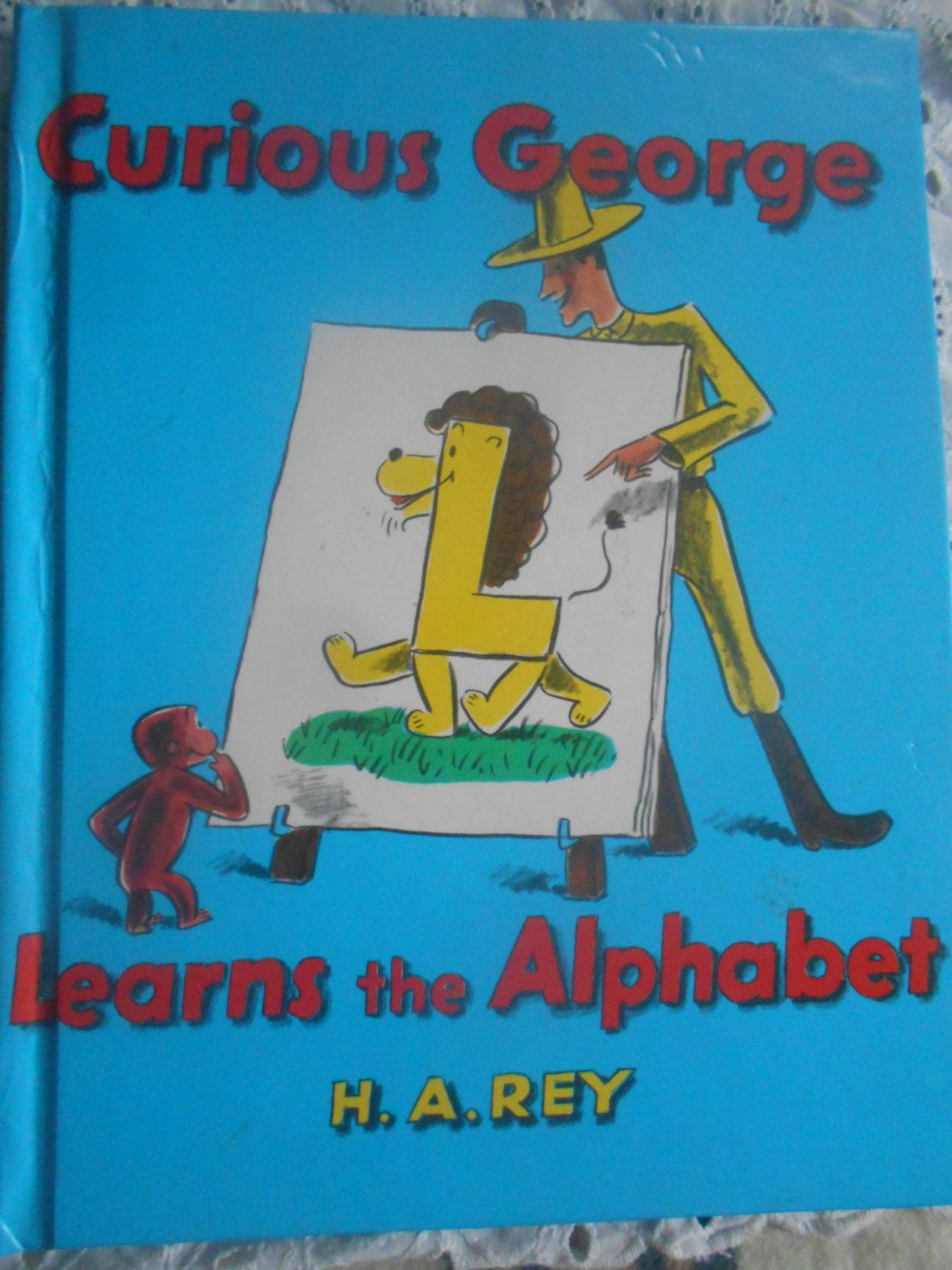 Curious George Learns The Alphabet By H A Rey Hardcover