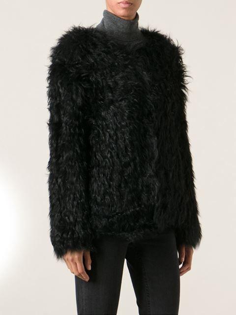 bd8acd51f7c6 Ravn Knitted Lamb Fur Jacket - Bernard - Farfetch.com | Ravn ...