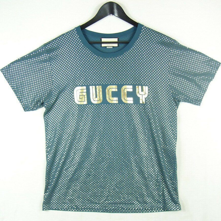 san francisco 70bbf c2072 GUCCI 18SS limited GUCCY TEE Gutchi T-shirt made in Italy ...