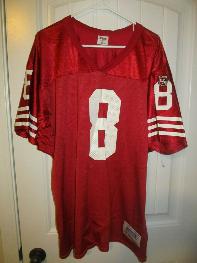 ce4ebfc5faa Steve Young - San Francisco 49ers jersey - Wilson Adult XL  Wilson   SanFrancisco49ers