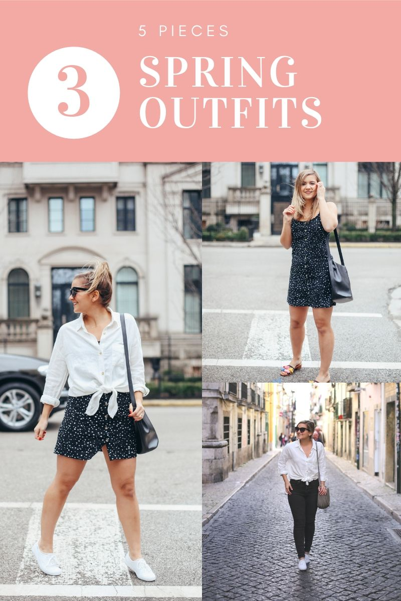 7 Items, 7 Spring Outfit Ideas - Lake Shore Lady Blog  Spring