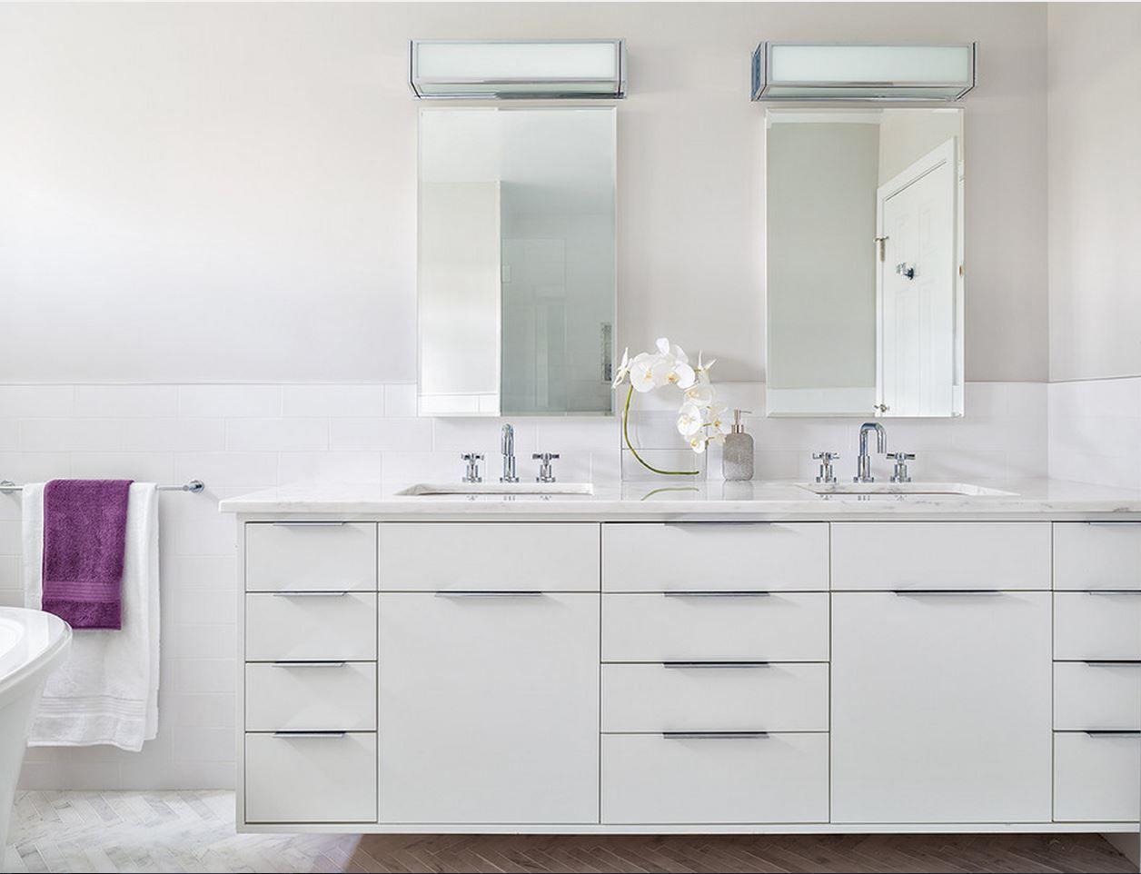 contemporary bathroom by clean design berenson bravo hardware