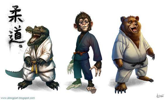 Judo Animals By Toramarusama On Deviantart Judo Karate Martial Arts Martial Arts Techniques