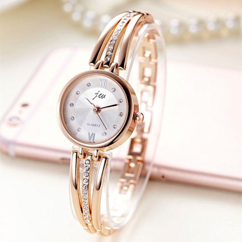 새로운 패션 라인 석 시계 여성 럭셔리 브랜드 스테인레스 스틸 팔찌 시계 여성 석영 드레스 시계 reloj mujer AC070