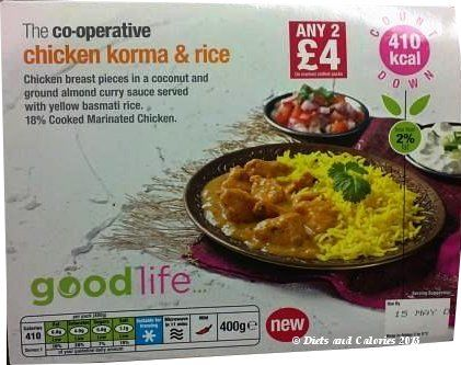 The co operative good life chicken korma rice healthier food forumfinder Gallery