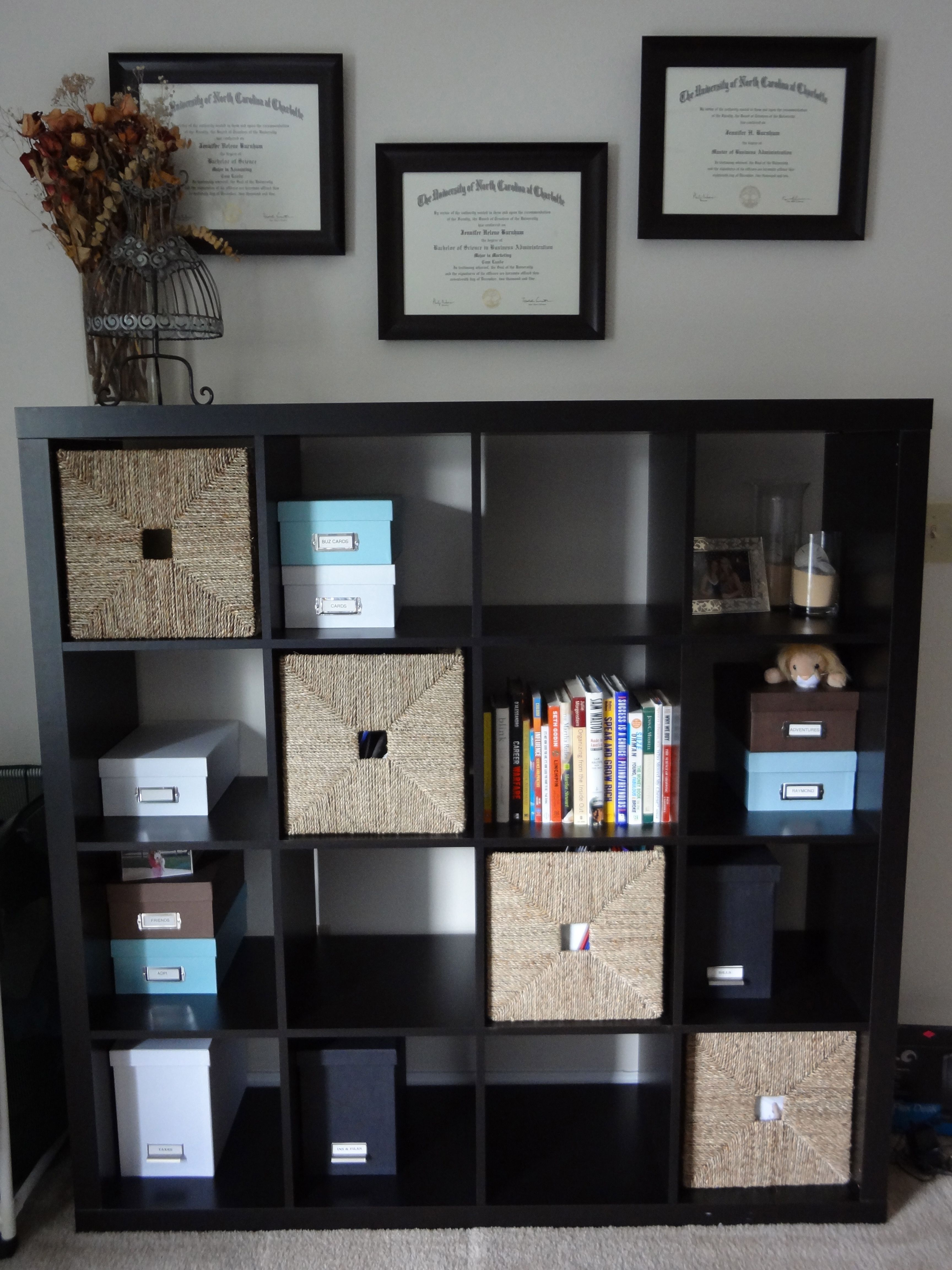 Posts About Ikea Expedit Bookshelf On Pure Simple Organizing