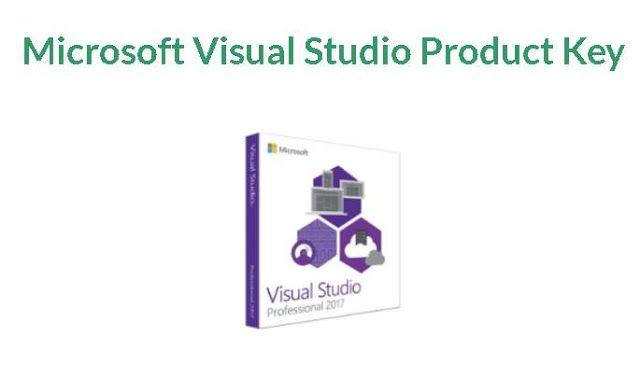 product key for visual studio 2017