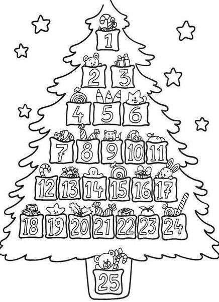Calendari Dellavvento Da Stampare Foto 940 Pourfemme Natale