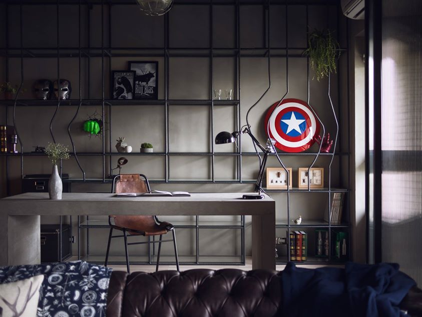 Avengers Themed Apartment Where The Assemble In Stark Tower