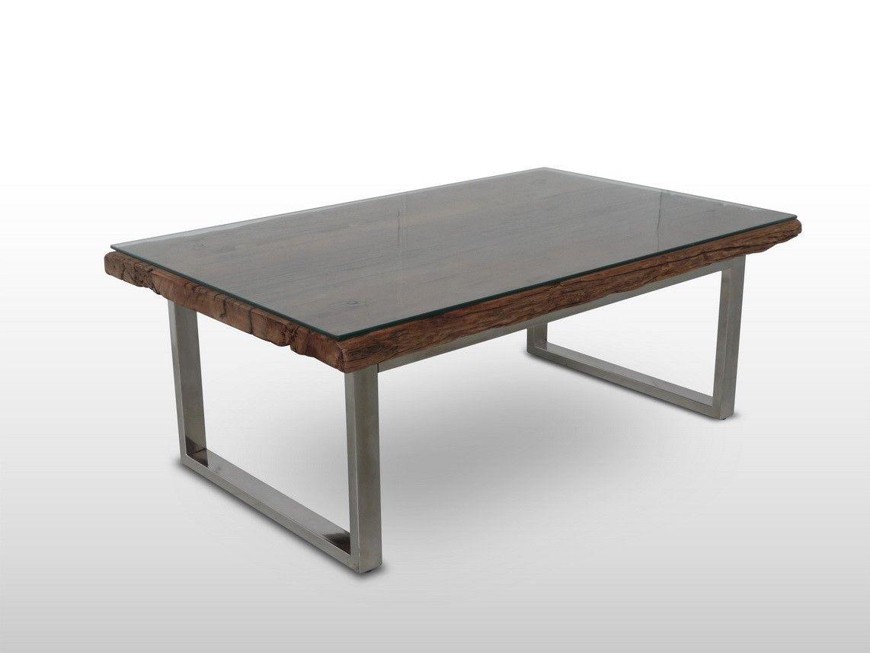 table basse merapi plateau bois de fer ulin verre. Black Bedroom Furniture Sets. Home Design Ideas