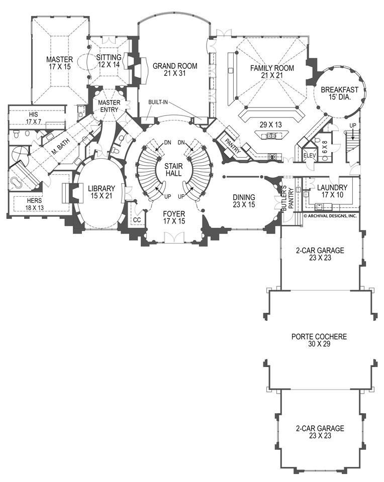 Breakers House Plan House Plans Mansion Floor Plan How To Plan
