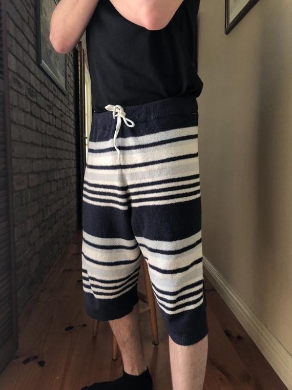 one of a kind gelato pique homme towel pants made in JapanL 25 x W 30 inches