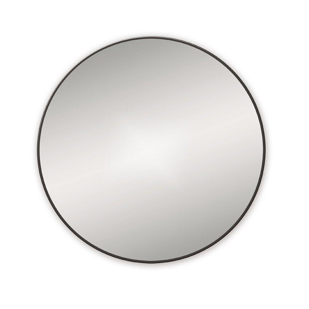 Bathroom Origins Docklands Black 60cm Round Mirror Black Round