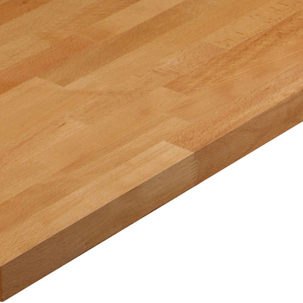 27mm Cooke Lewis Beech Solid Beech Square Edge Kitchen Worktop L 3m D 600mm Departments Diy At B Q Kitchen Worktop Square Edge Worktop Beech