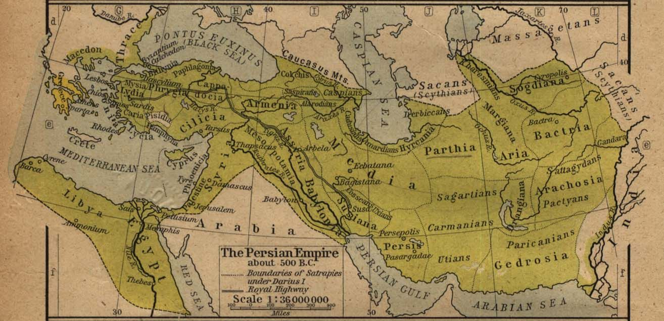 The Zoroastrian Achaemenid Empire at its greatest