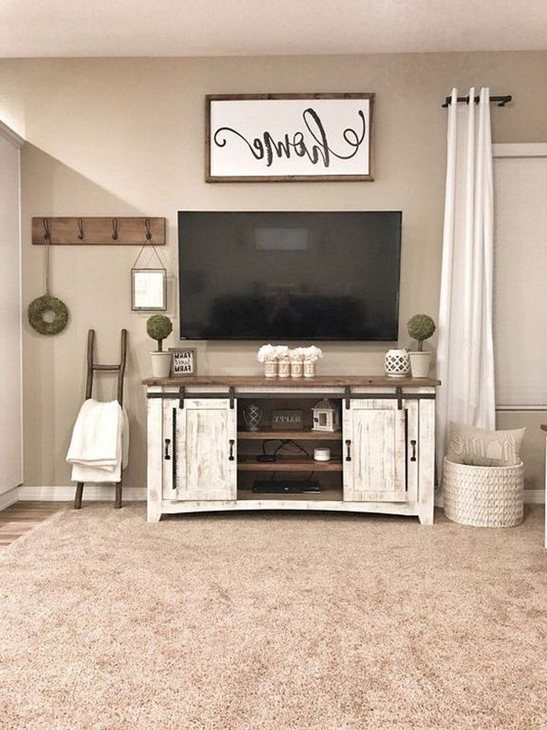 21 Cool Latest Reclaimed Wood Tv Stand Design Ideas Design Designideas D Farm House Living Room Farmhouse Living Room Furniture Farmhouse Decor Living Room