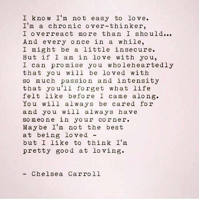 Chelsea Carroll INFJ | Quotes | Love quotes, Relationship