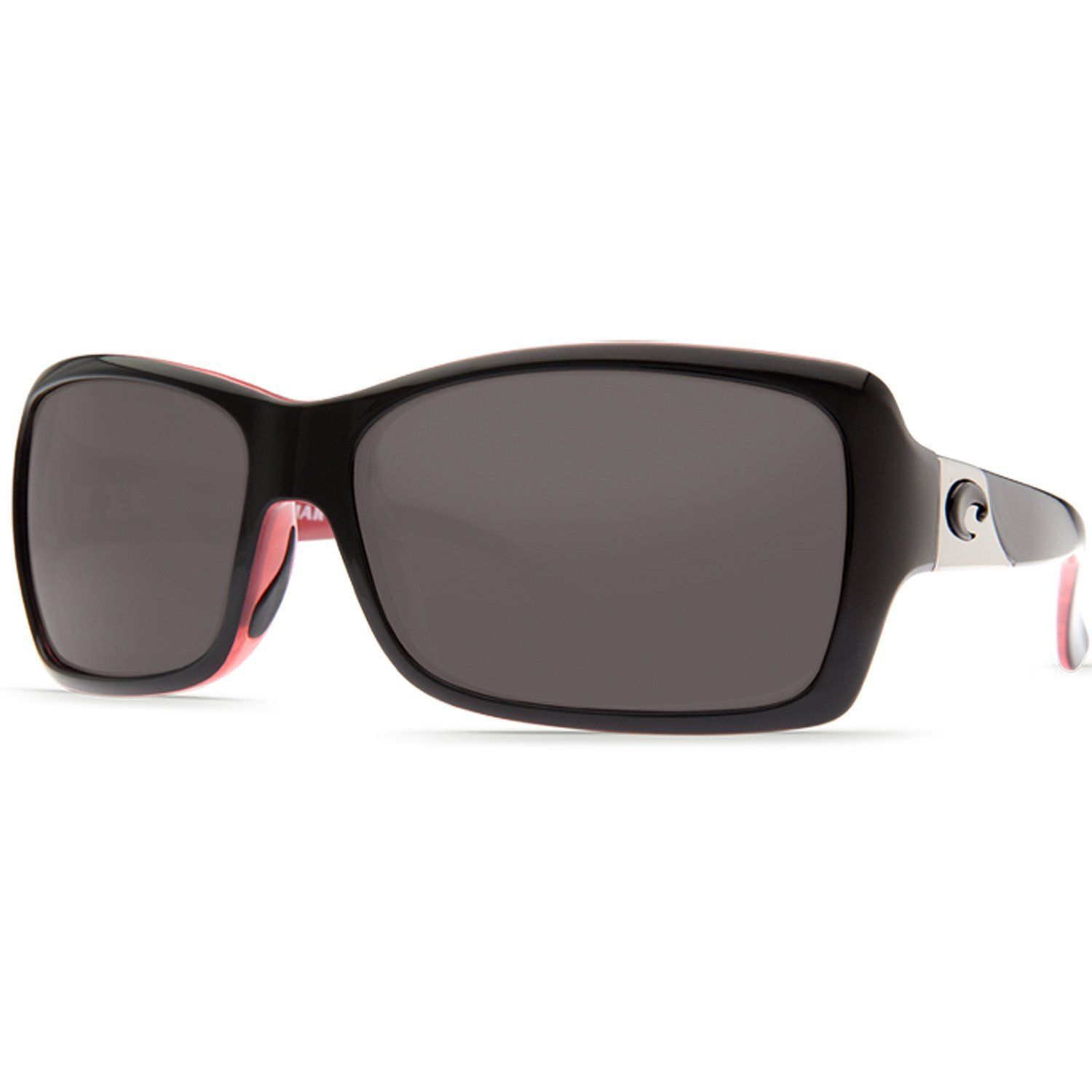 48f3342c0f Costa Del Mar Islamorada Polarized Sunglasses - Costa 580 Polycarbonate Lens  - Womens Black-Coral Amber