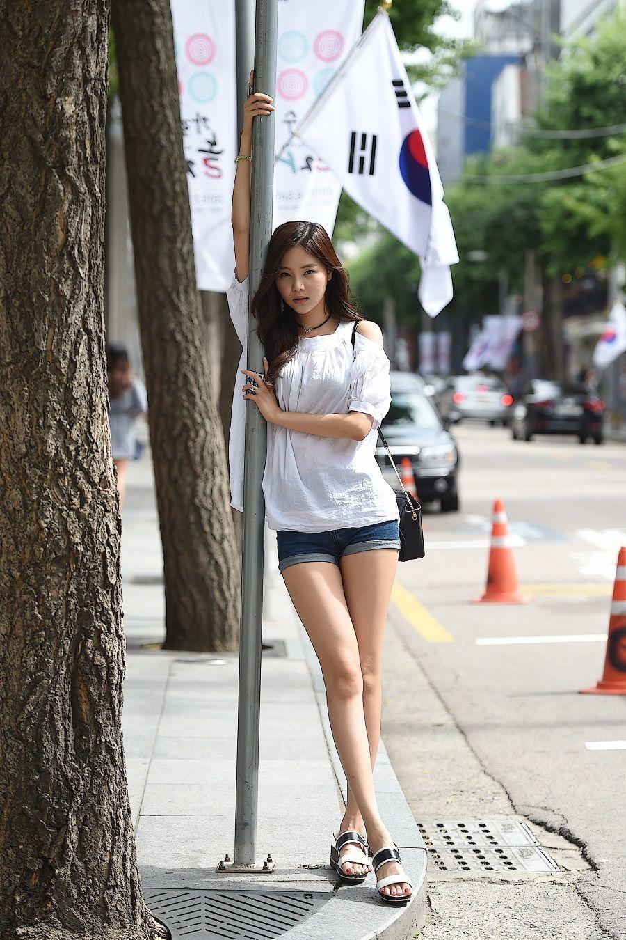 Street Fashion Asian Teen 30