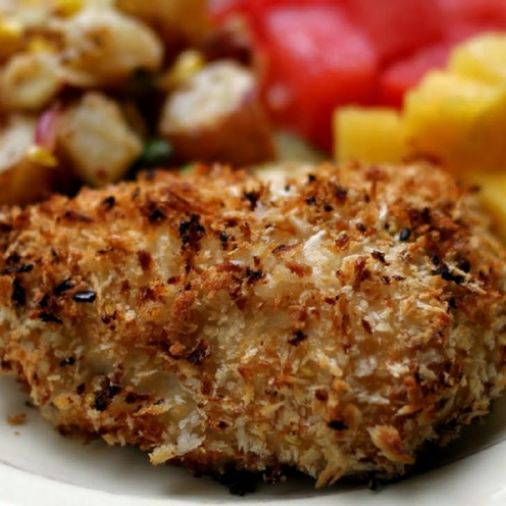 Coconut Chicken Nuggets: Oven-Fried Coconut Chicken