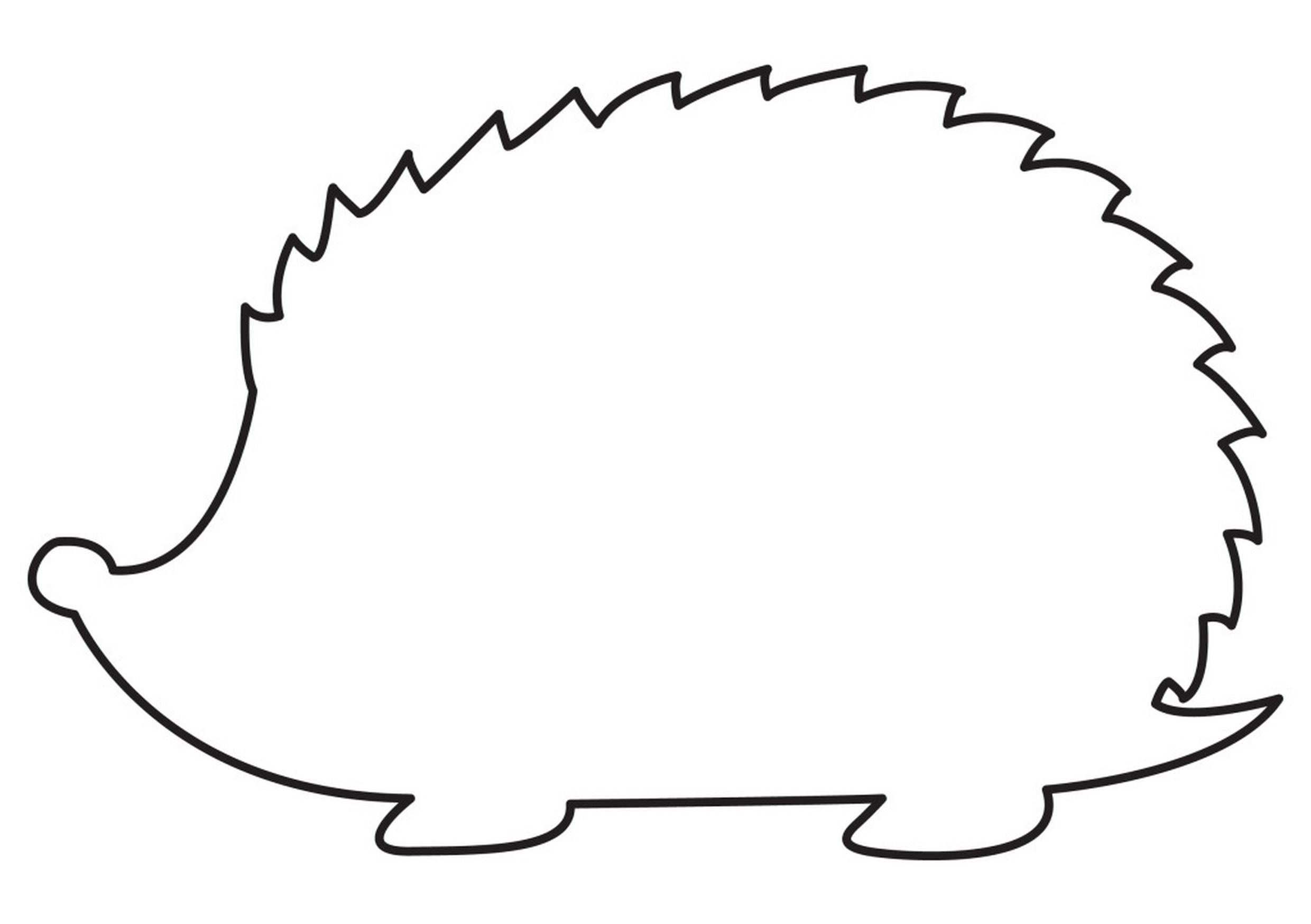 Line Drawing Hedgehog : Hedgehog template ideas crafts pinterest