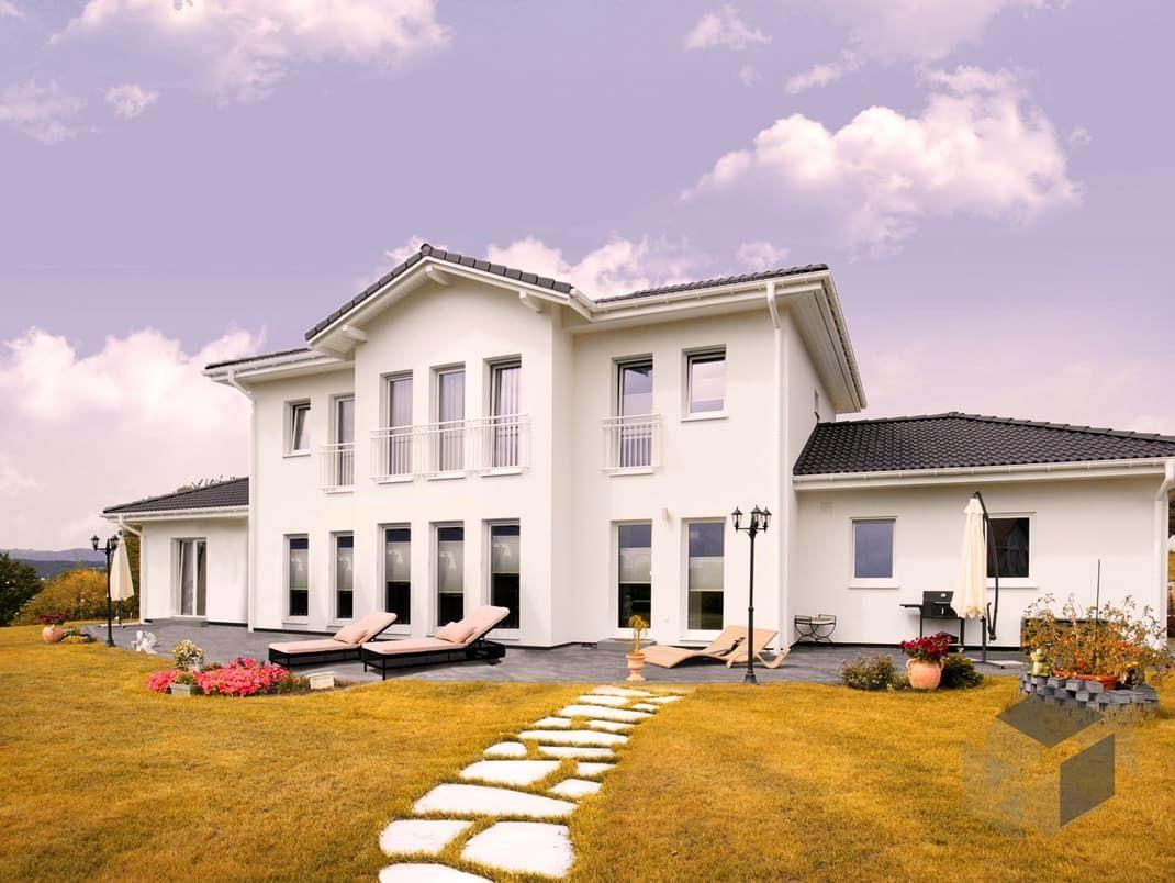 purer luxus die stadtvilla classic 237 von dan wood hat eine wohnfl che von unglaublichen 203. Black Bedroom Furniture Sets. Home Design Ideas