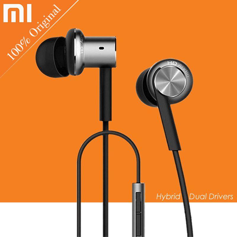 Earbuds Earphones Microphone Original Xiaomi Hybrid Pro ...
