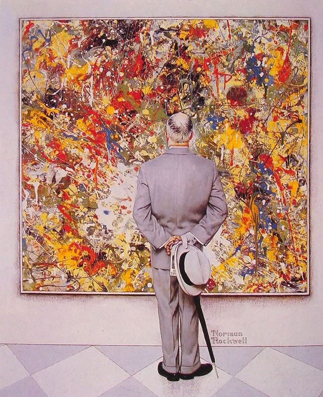 The Connoisseur (1962) by Norman Rockwell | Quadros | Pinterest ...
