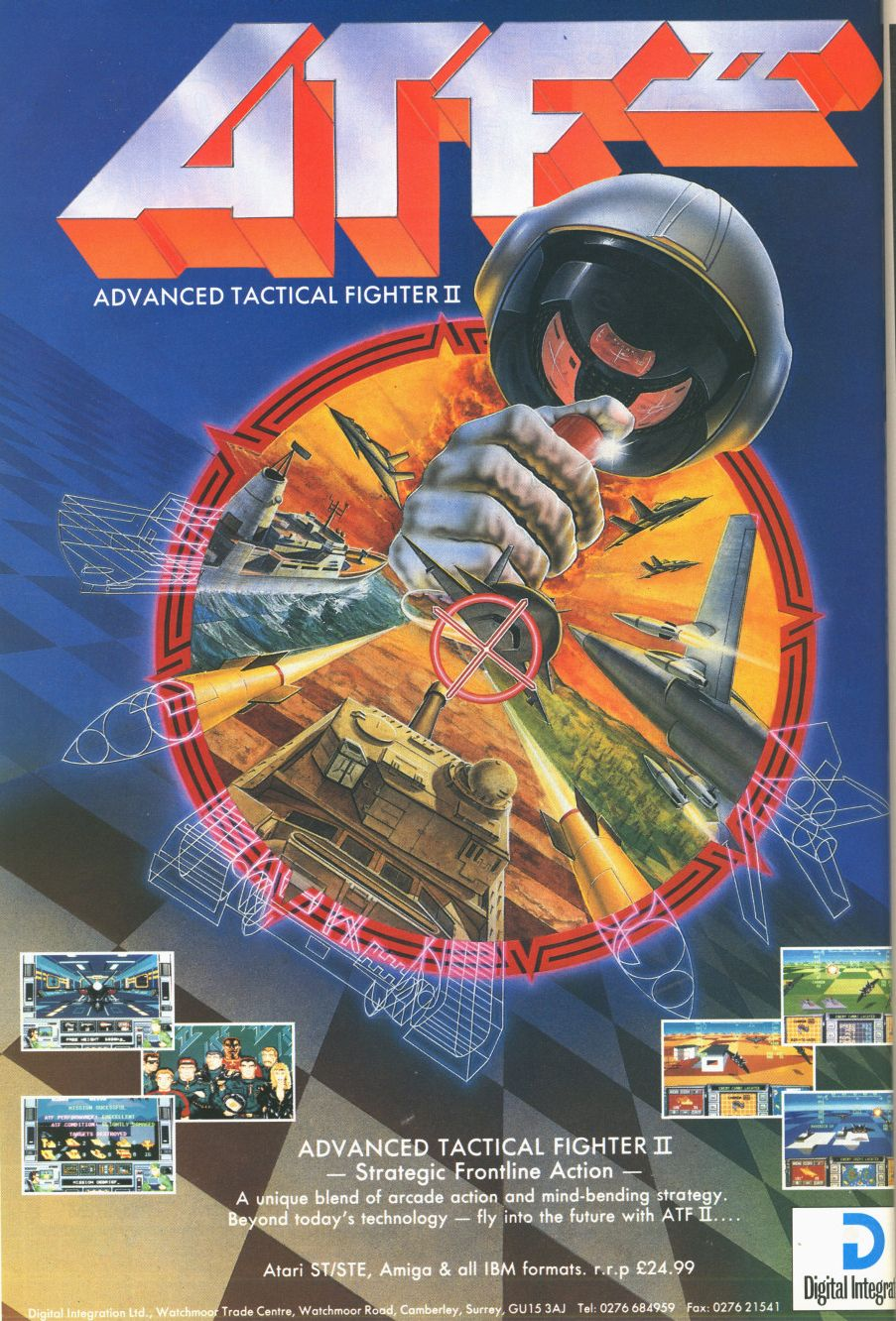 Advanced Tactical Fighter II 1990 Retro video games