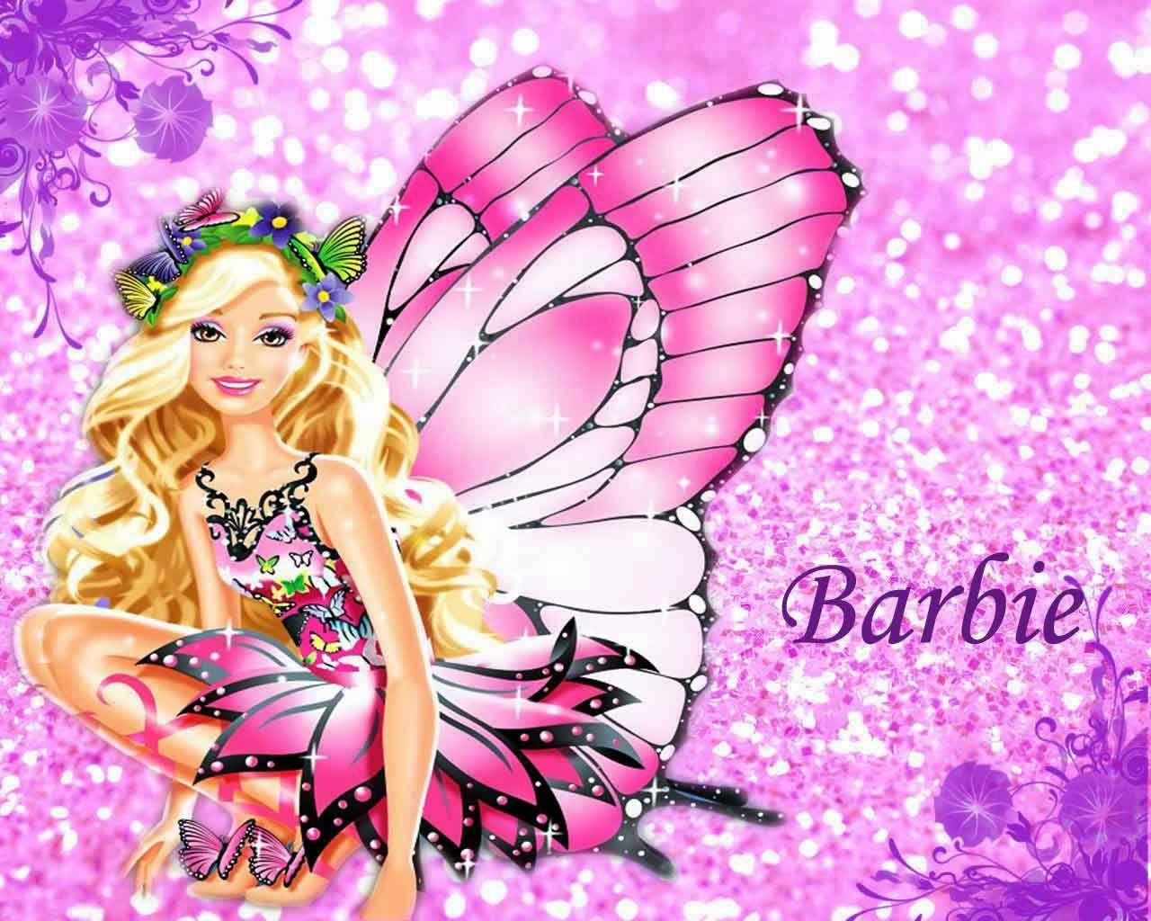Barbie: Invitaciones y Marcos para Imprimir Gratis. | Feliz ...