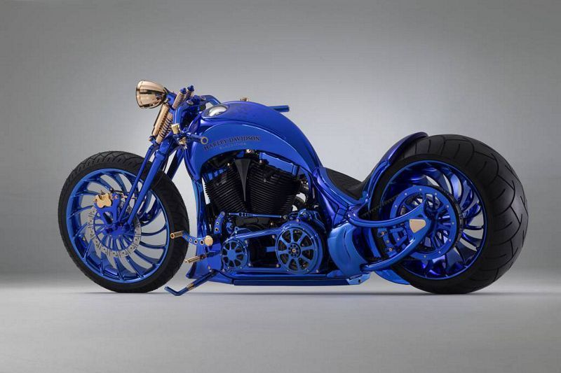 Harley Davidson Bucherer Blue Edition A Moto Mais Cara Do Mundo