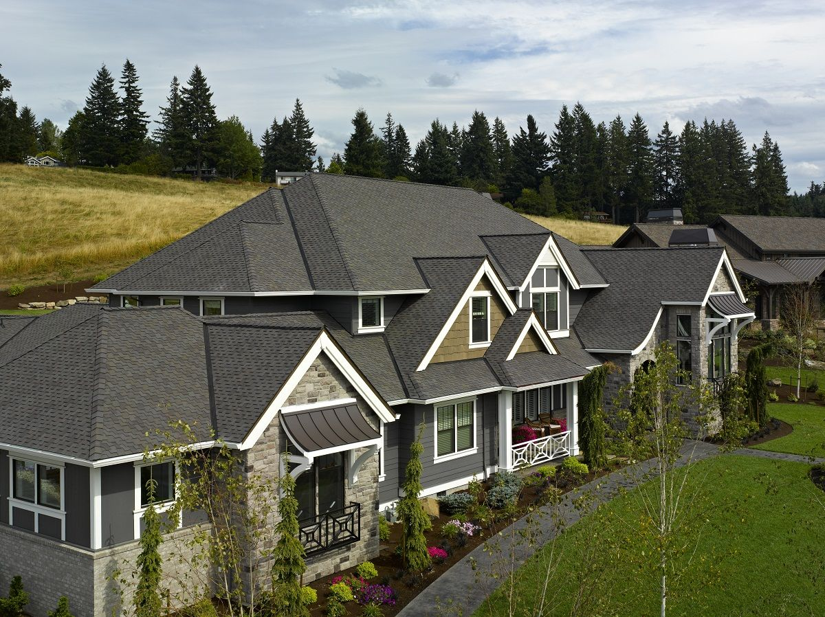 Certainteed Presidential Shake In Shadow Gray Roofing Shingles Pergola Plans Design Roofing Roof Architecture