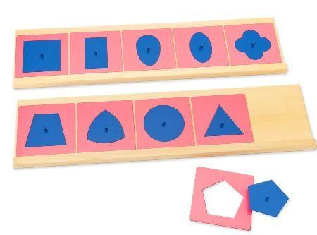 Die Metallenen Einsatzfiguren unterst�zen die Auge-Hand-Koordination. Bei der Arbeit mit den Einsatzfiguren lernen Kinder die ersten, wichtigen Grundf�higkei...
