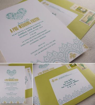 Kinser Event Company Free DIY Printable PreWedding Fiesta - Pre wedding invitation templates
